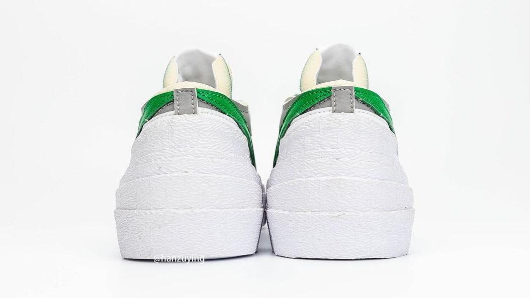 Sacai x Nike Blazer Low 'Classic Green' DD1877-001 Heel