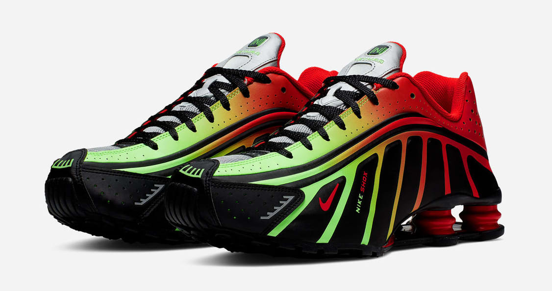 quality design aa2df cf0b2 Nike Shox R4  Neymar Watermleon  (Pair)