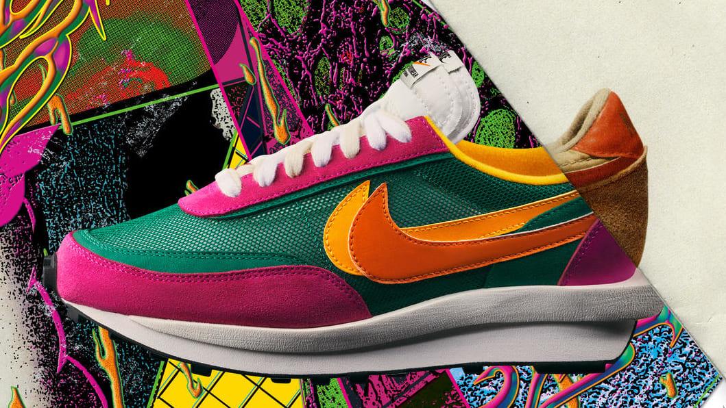 Sacai x Nike LDWaffle 'Pink'