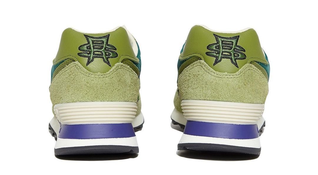 Stray Rats x New Balance 574 Green (Heel)