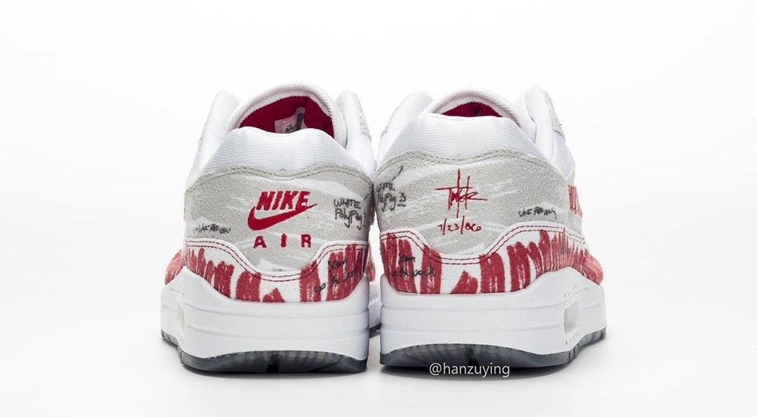 Nike Air Max 1 'Tinker Sketch' CJ4286-101 (Heel)