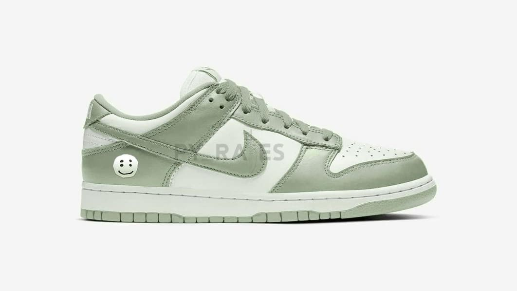 Cactus Plant Flea Market x Nike Dunk Low 'Spiral Sage' Mock-up