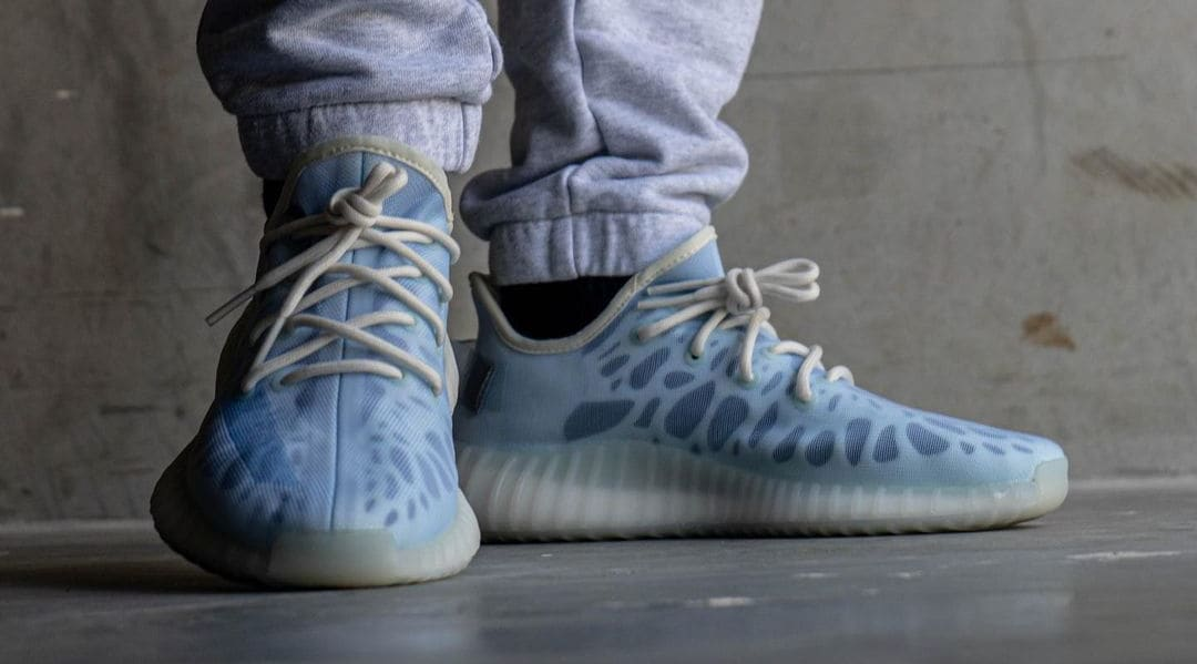 Adidas Yeezy Boost 350 V2 'Mono Ice' Front