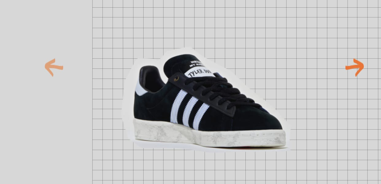 Size? x Adidas Campus 80s 'Fight Club' Medial