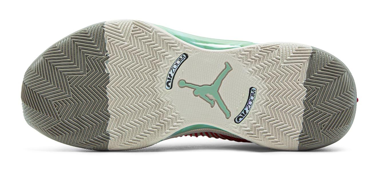 CLOT x Air Jordan 35 XXXV Release Date DD9322-200 Sole