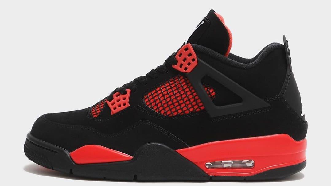 Air Jordan 4 IV Black Red Thunder Release Date CT8527-016 | Sole ...