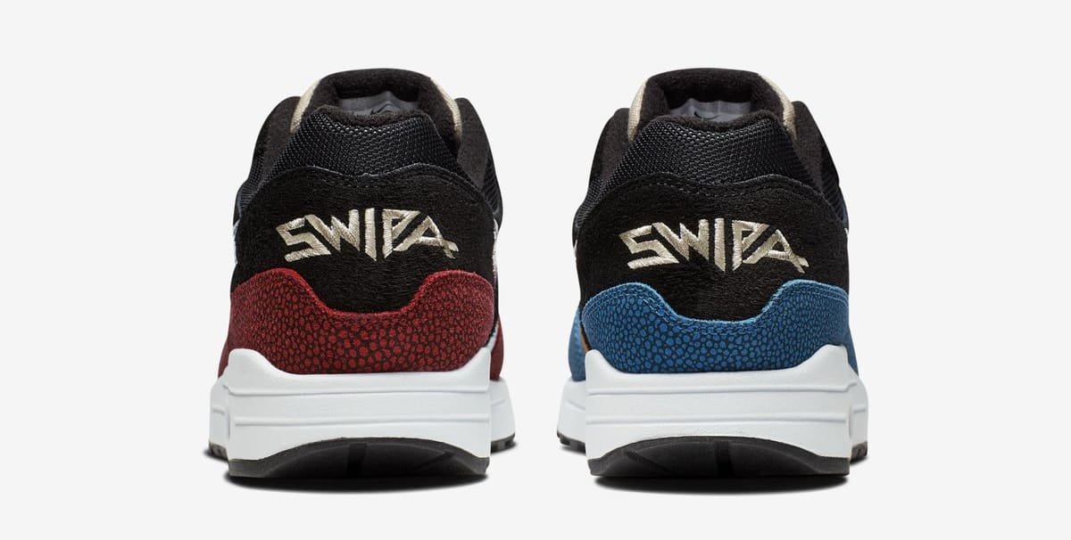 De'Aaron Fox x Nike Air Max 1 'Swipa' (Heel)