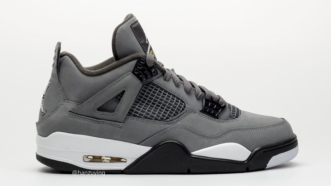 Air Jordan 4 IV Cool Grey 2019 Release Date 308497-007 Profile