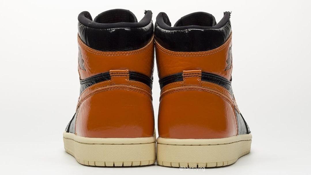 Air Jordan 1 Shattered Backboard 3.0 Release Date 555088-028 Heel
