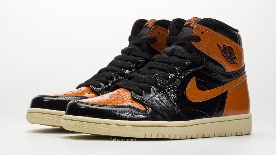 on sale cb9b1 da37c Air Jordan 1 'Shattered Backboard 3.0' Black/Pale Vanilla ...