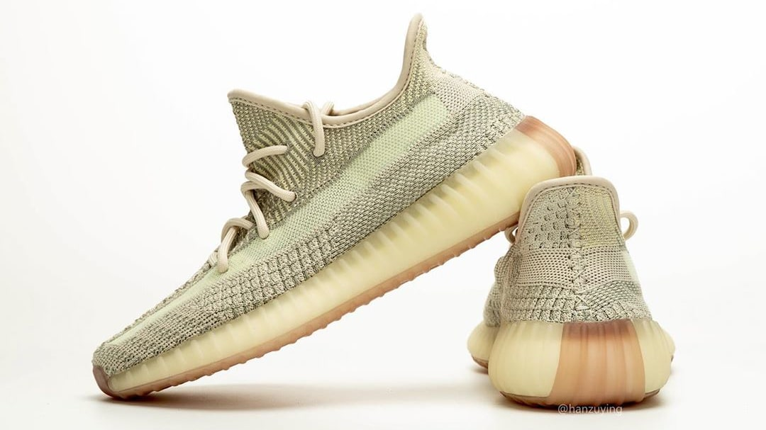 Adidas Yeezy Boost 350 V2 Citrin Release Date FW3043 Lateral