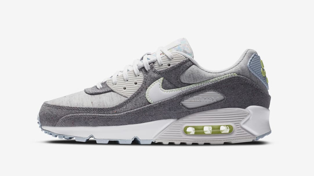 Nike Air Max 90 'Recycled Canvas' Lateral