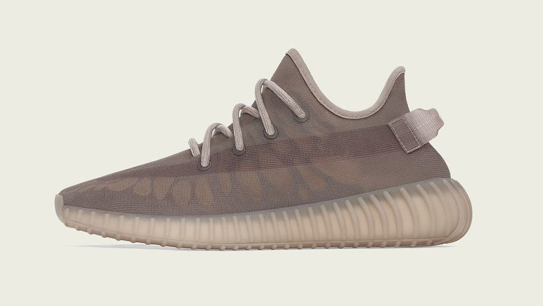 Adidas Yeezy Boost 350 V2 'Mono Mist' Lateral