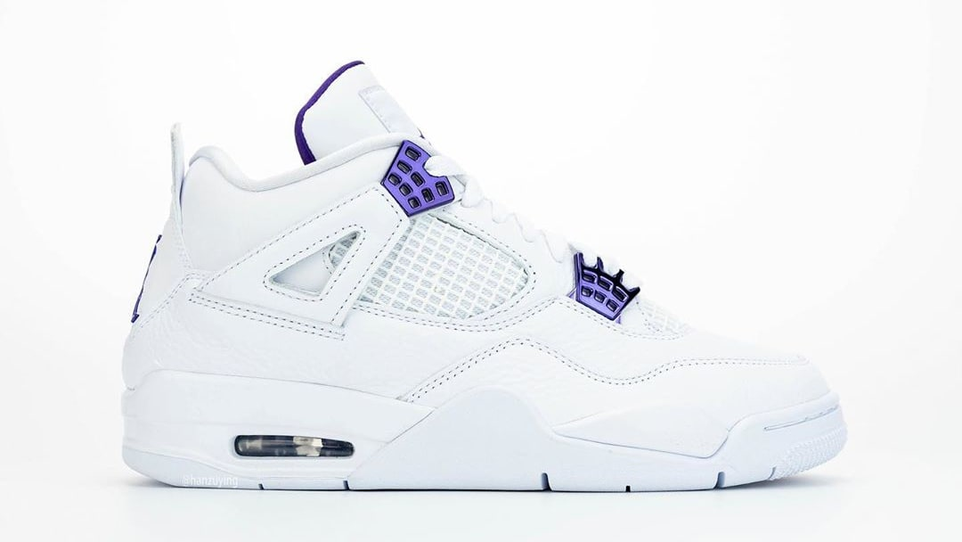Air Jordan 4 Court Purple Release Date CT8527-115 Right Profile