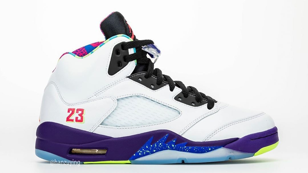 Air Jordan 5 V Fresh Prince Bel-Air Alternate Release Date DB3335-100 Right Profile