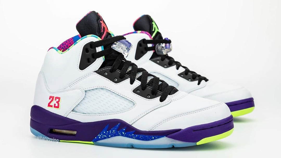 Air Jordan 5 V Fresh Prince Bel-Air Alternate Release Date DB3335-100 Pair Right