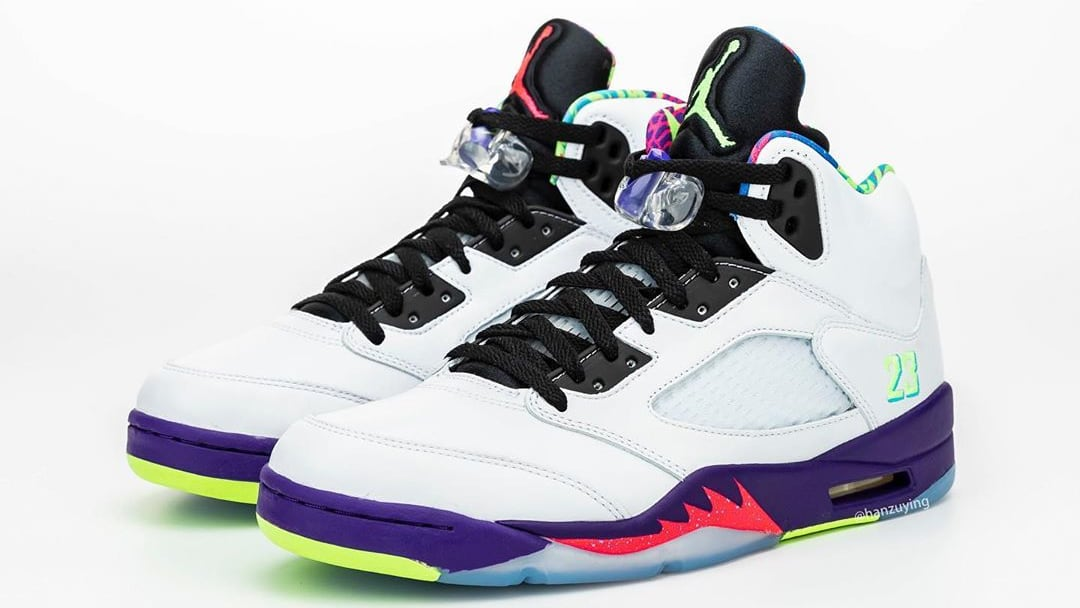 Air Jordan 5 V Fresh Prince Bel-Air Alternate Release Date DB3335-100 Pair Left