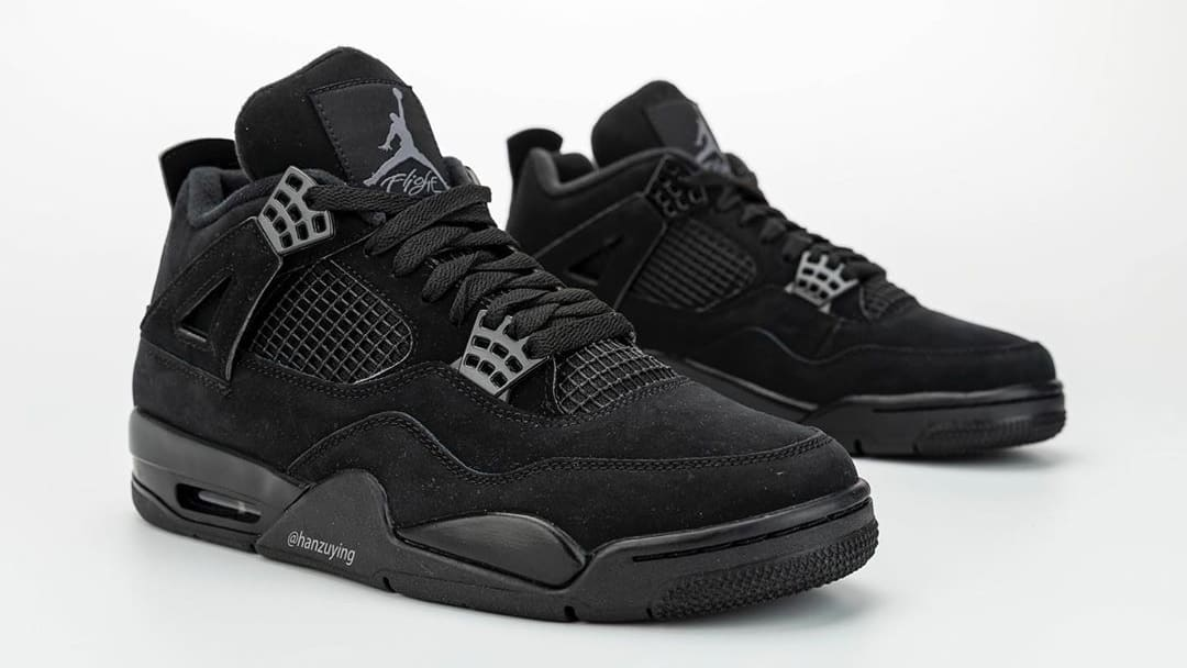 beauty available hot products Air Jordan 4 Retro 'Black Cat' Release Date CU1110-010 ...