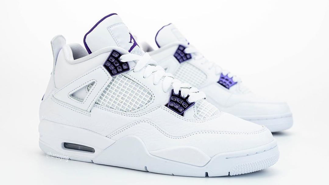 Air Jordan 4 Court Purple Release Date CT8527-115 Right