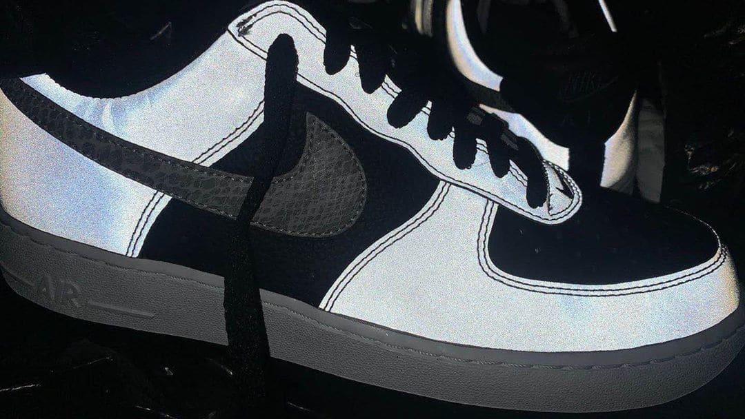 Nike Air Force 1 Low B 'Reflective Snake' DJ6033-001 (Reflective)