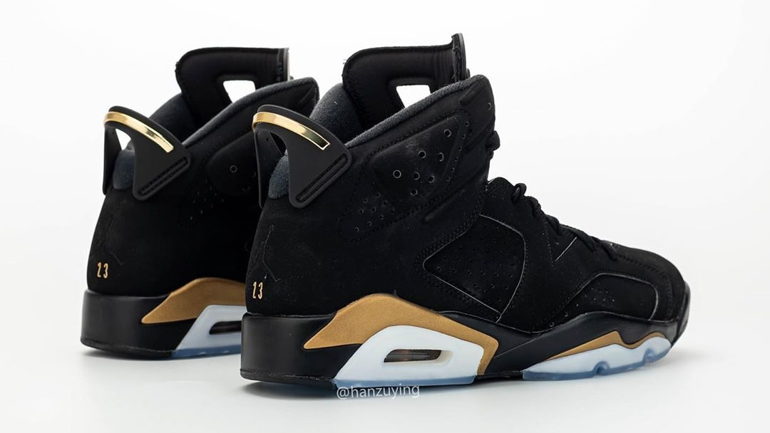 Air Jordan 6 DMP Release Date CT4594-007 Heel Pair