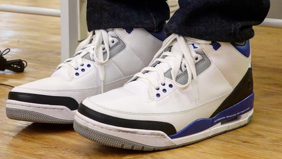 Hiroshi Fujiwara x Air Jordan 3 1
