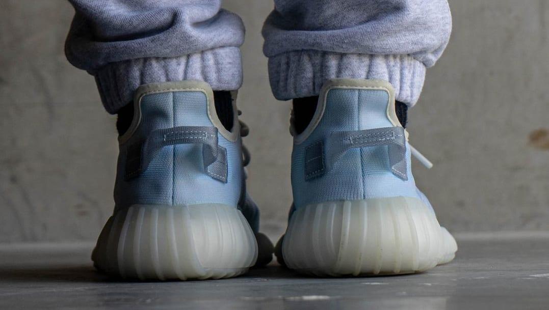 Adidas Yeezy Boost 350 V2 'Mono Ice' Heel