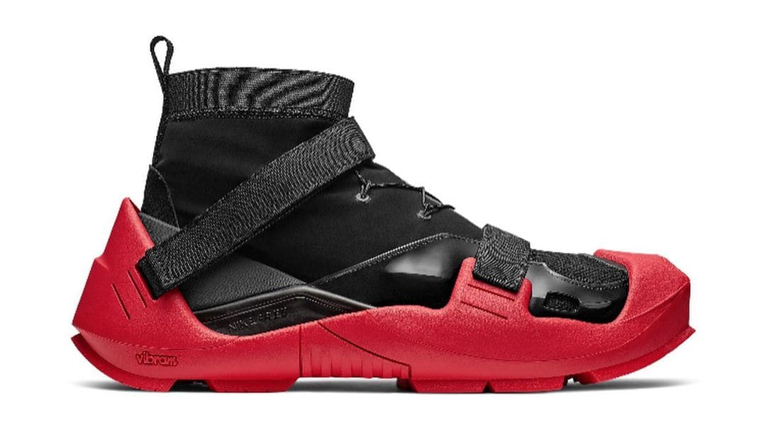 Matthew M. Williams x Nike 'Black/Red' (Lateral) 2