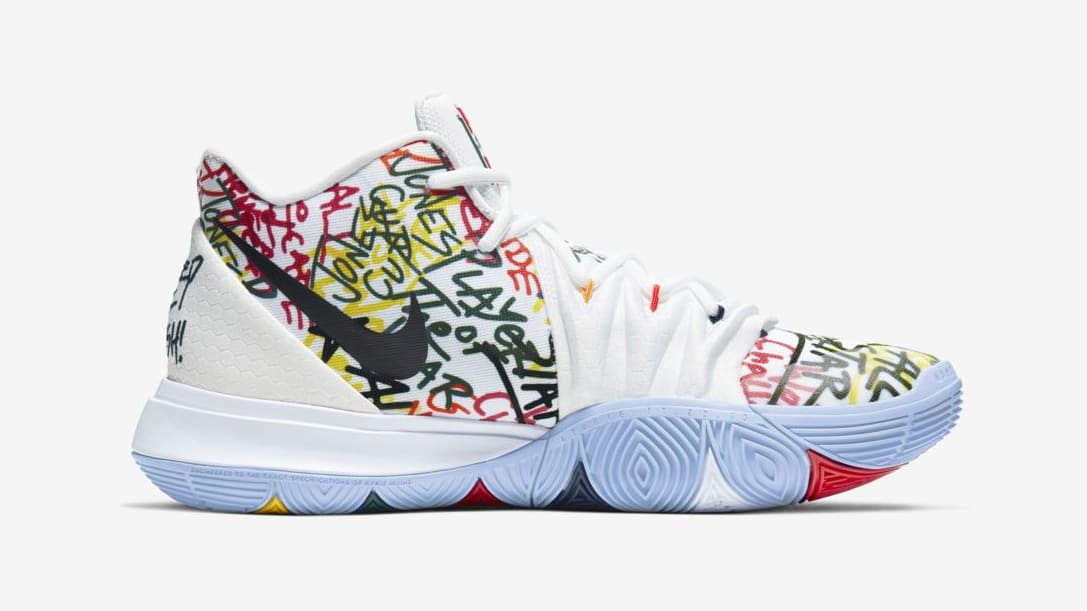 "Nike Kyrie 5 ""Keep Sue Fresh"" Honors A WNBA Legend: Official Images"