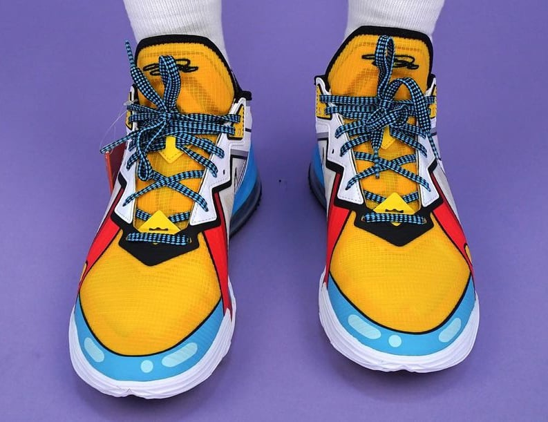 Nike LeBron 18 Low 'Stewie Griffin' Front