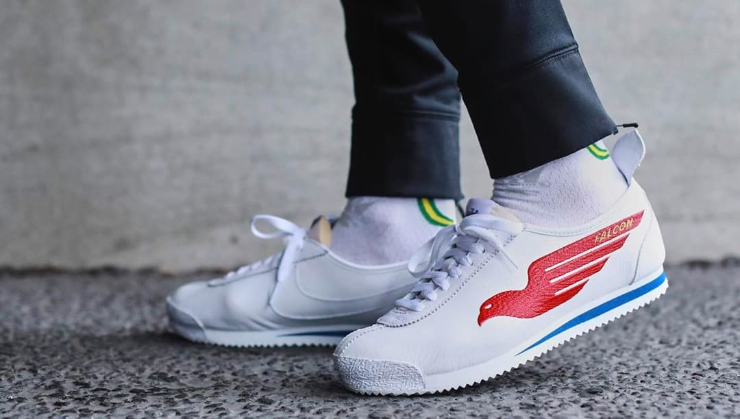 Shoe Dog x Nike Cortez '72 'Falcon' (On-Foot)