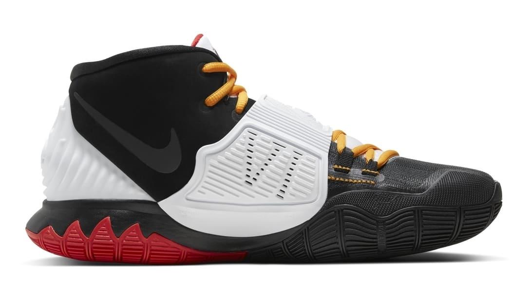 Nike Kyrie 6 Black Bruce Lee Mamba Release Date Medial