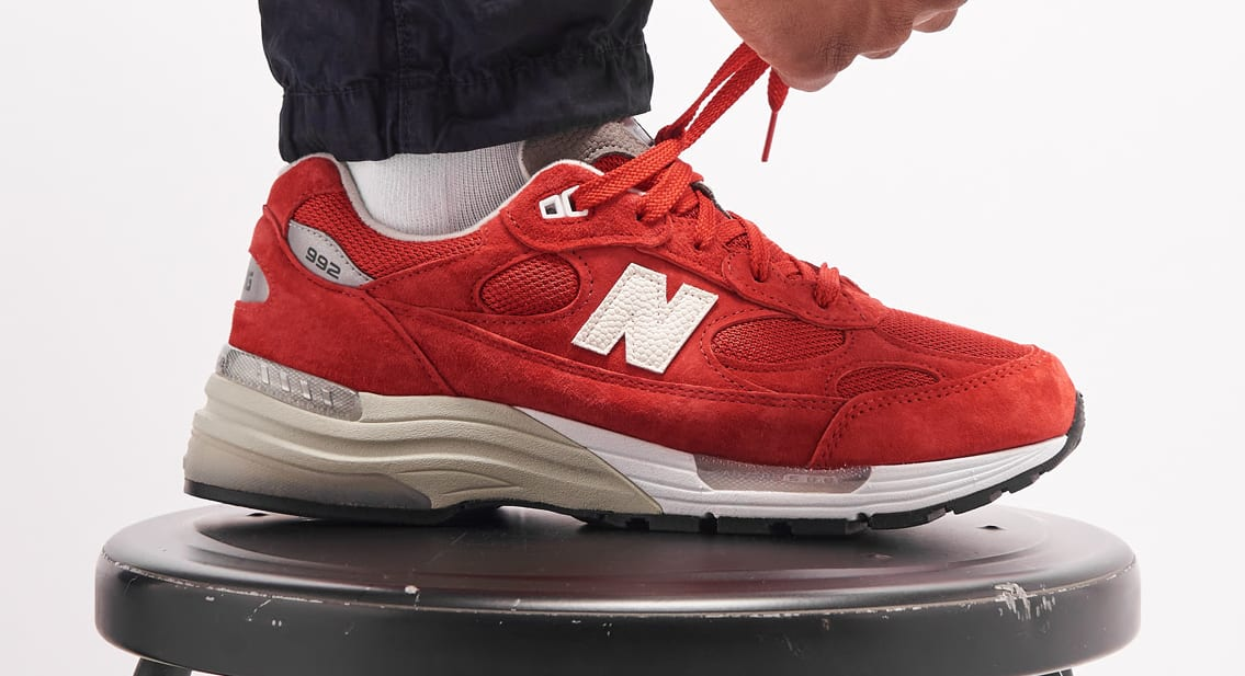 Ronnie Fieg for New Balance 992 'Kithmas' Red