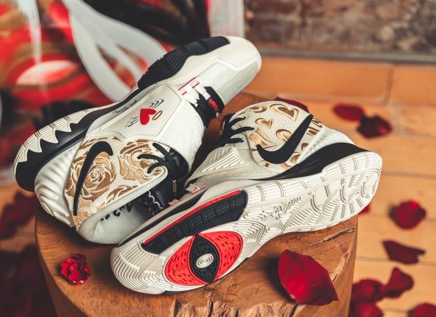 Sneaker Room x Nike Kyrie 6 'Mom' (White Pair)