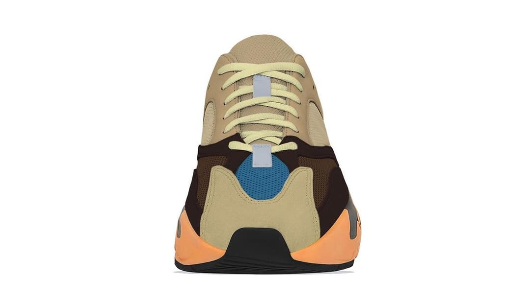 Adidas Yeezy Boost 700 'Enflame Amber' (Front)
