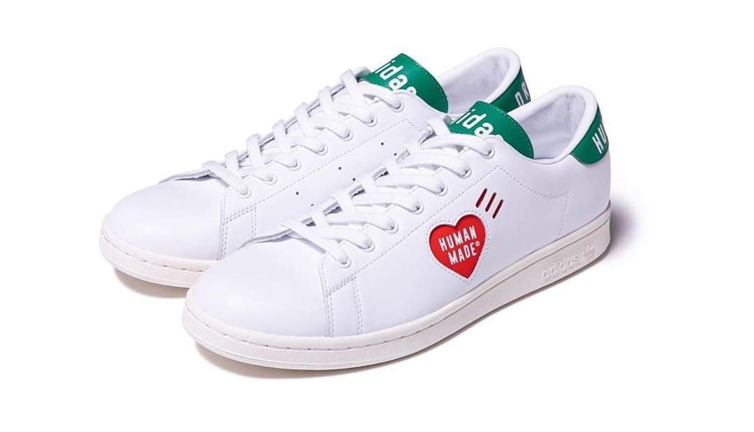 Human Made x Adidas Stan Smith 'White/Green' Pair