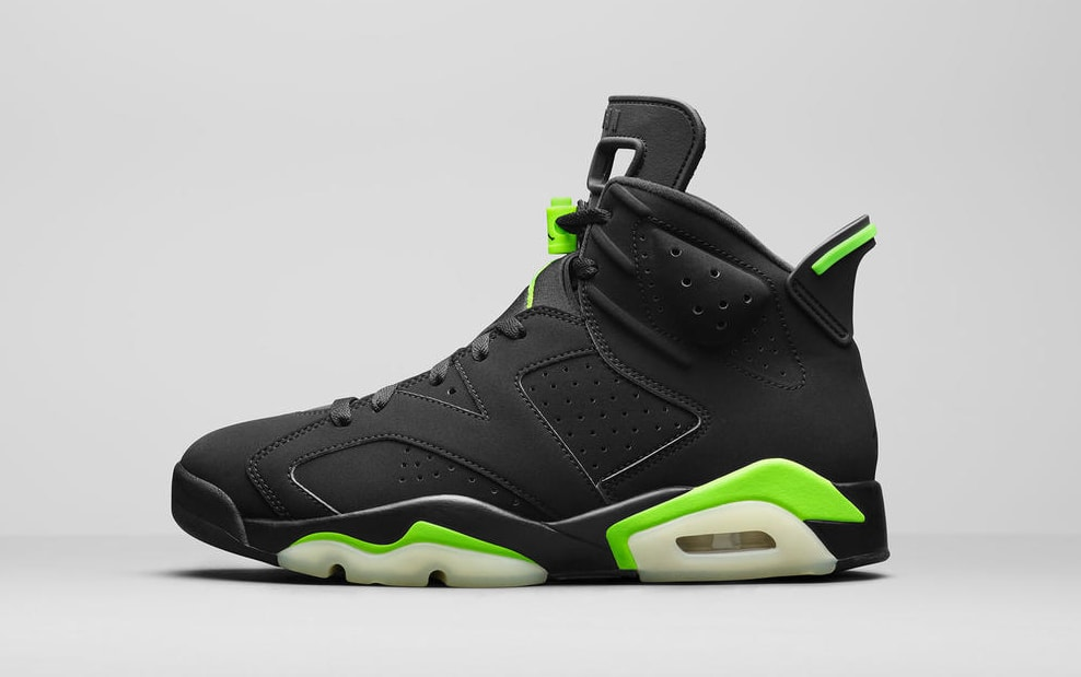 Air Jordan 6 Retro 'Electric Green' Lateral
