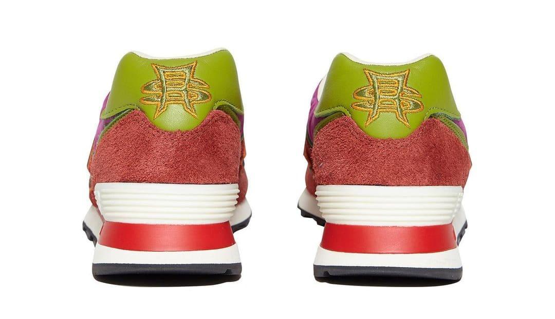 Stray Rats x New Balance 574 Pink (Heel)