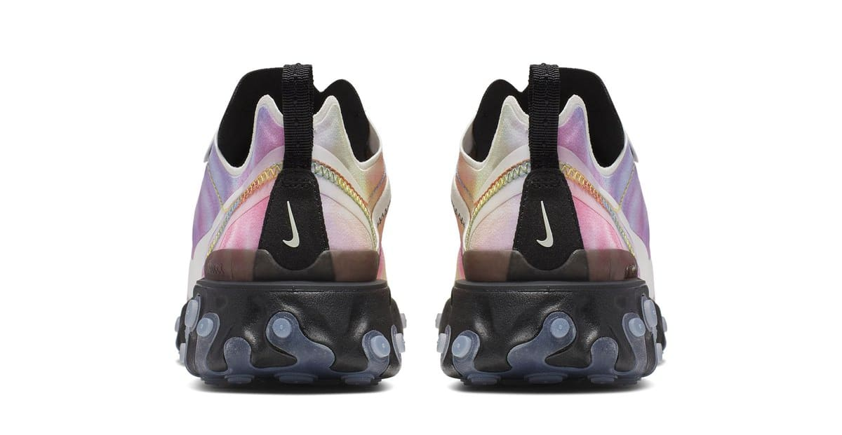 Nike React Element 55 'Tie Dye' (Heel)