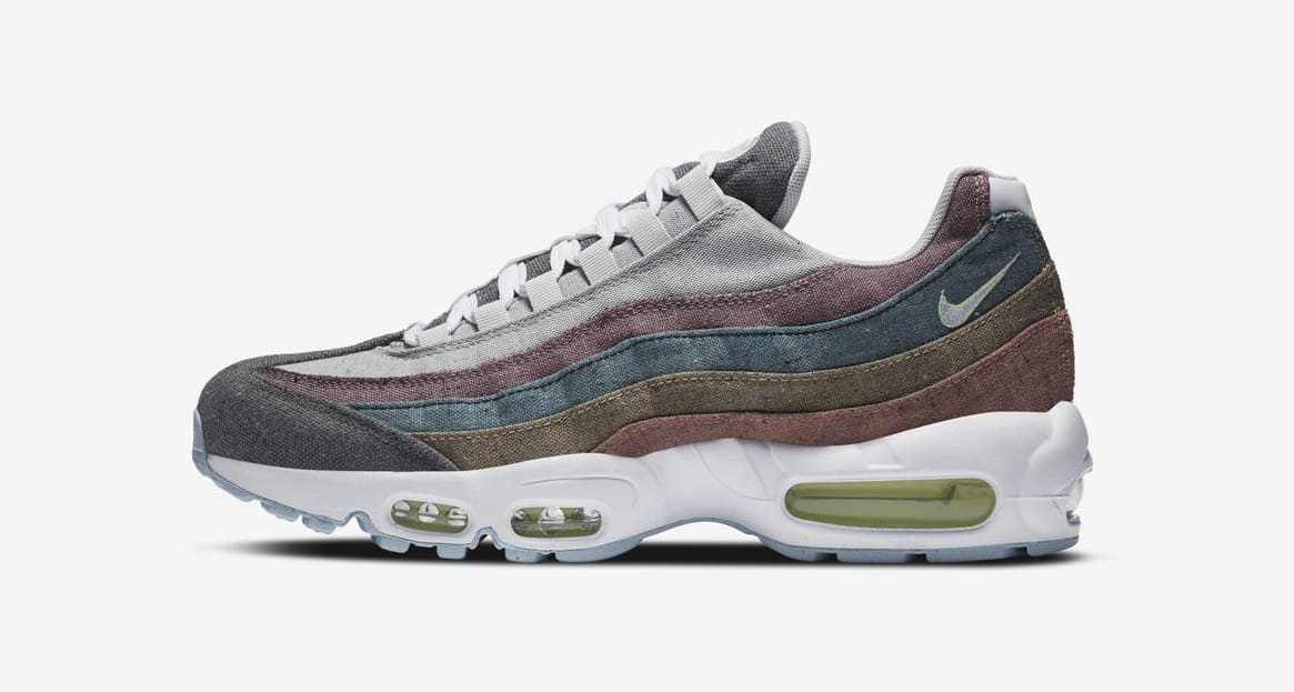 Nike Air Max 95 'Recycled Canvas' Lateral