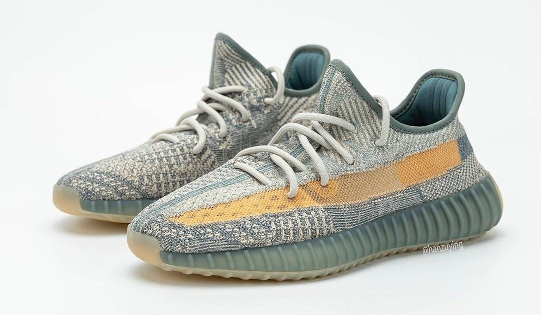 Adidas Yeezy Boost 350 V2 'Israfil' FZ5421 Pair
