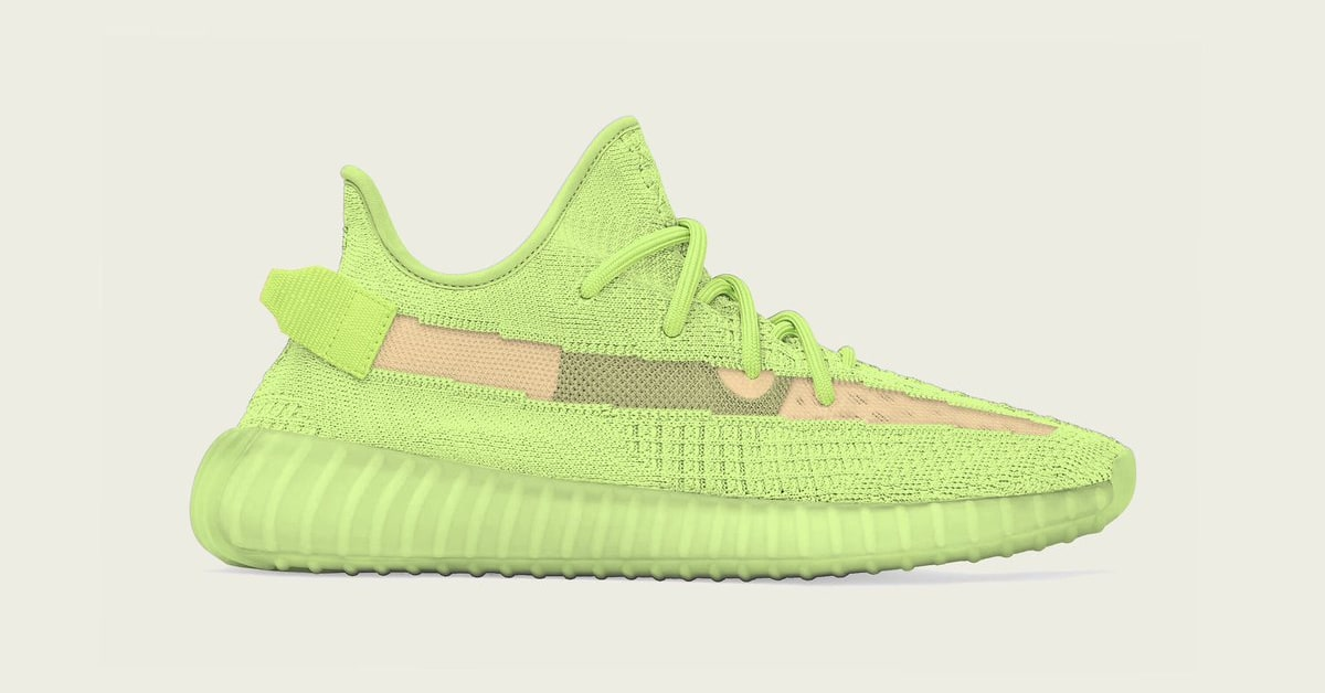 0be1e023 Adidas Yeezy Boost 350 V2 'Glow in the Dark' Release Date | Sole ...