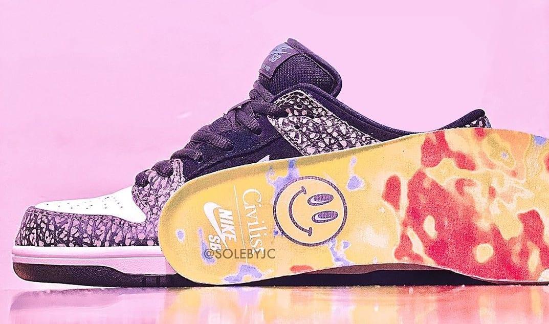 Civilist x Nike SB Dunk Low Collab Insole