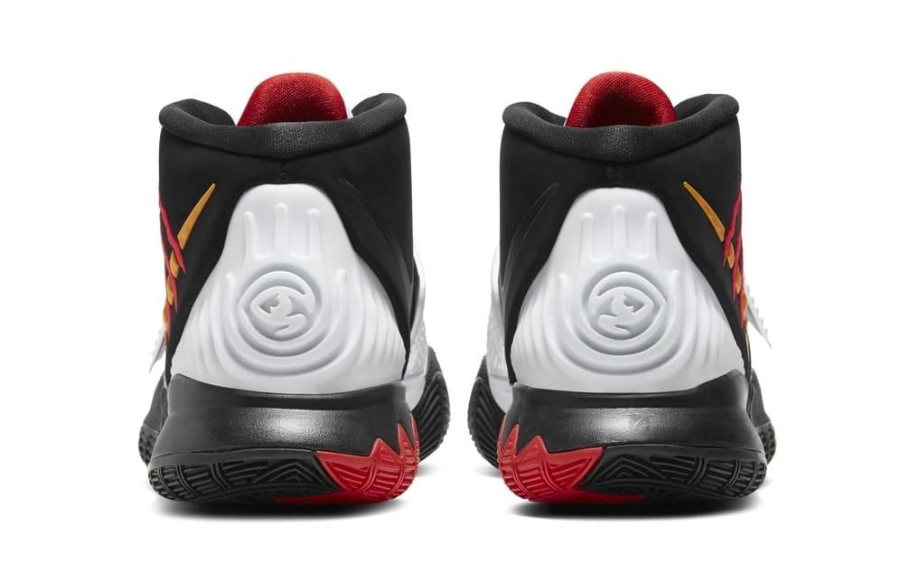 Nike Kyrie 6 Black Bruce Lee Mamba Release Date Heel
