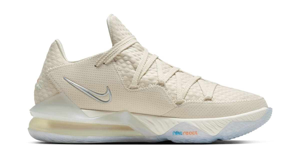 Nike LeBron 17 Low 'Bone' CD5007-200 Medial