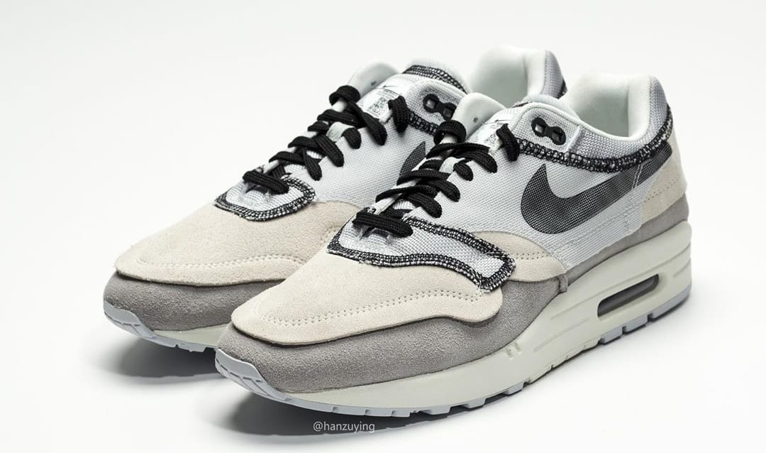 Nike Air Max 1 'Inside Out/Light Grey' 858876-013 (Pair)