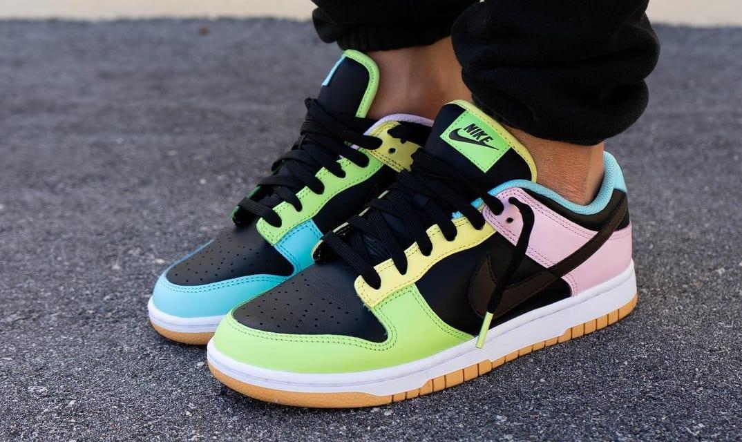 Nike Dunk Low 'Free 99' Black DH0952-001 Pair