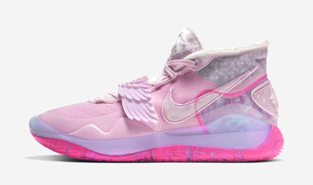 Nike KD 12 'Aunt Pearl' (Lateral)