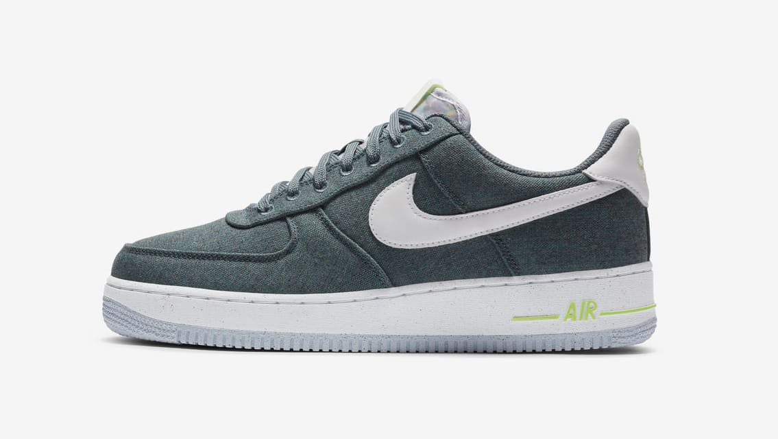 Nike Air Force 1 Low 'Recycled Canvas' Lateral