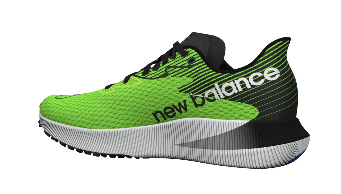 New Balance FuelCell RC Elite 'Green' Medial